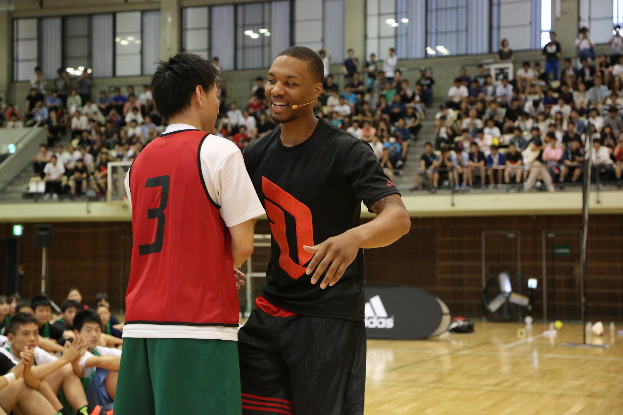 timeless design a4ed0 b4191 adidas Damian Lillard Take on Summer Tour in Tokyo, Japan, 3 Tokyo (June